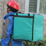 "PK-76G: Delivery bags for food, waterproof pizza delivery backpacks, keep warmer, 16"" L x 15"" W x 18"" H"