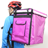 "PK-65AP: Insulated bag for food delivery, fresh food storge backpack, thermal carrier, 16"" L x 12"" W x 18"" H"