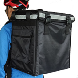 "PK-66V: Hot bag food delivery, pan carrier, insulated food delivery bag for takeaways, 16"" L x 12"" W x 18"" H"
