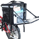 PK-92Z: Pizza delivery bag warmer for scooter with big volume, thermal backpacks, 17