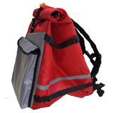 PK-60D: Roll Top Rucksack for Food Delivery, Extendable Pizza Delivery Bags, Flexible Backpack