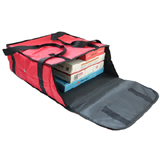 "PK-59P: 18 - 20 Inch Pizza Delivery Tote Bag, Thermal Delivery Bags, Hot Pizza Bag, 20"" L x 20"" W x 7"" H"
