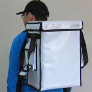 PK-33VW: Thermal food delivery bag, drinking takeaway backapck, Top Loading